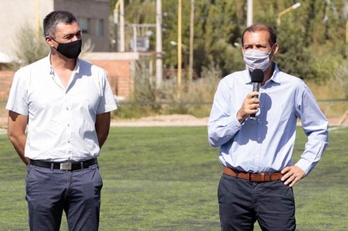 Gutiérrez anunció obras para la capital de Vaca Muerta