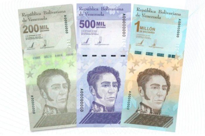 Venezuela lanzó un billete de un millón de bolívares: solo vale 50 centavos de dólar