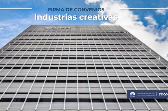 COPADE firmó convenios para ampliar el fomento a las industrias creativas