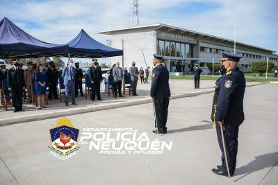 Acto por el 64° Aniversario de la Policía del Neuquén