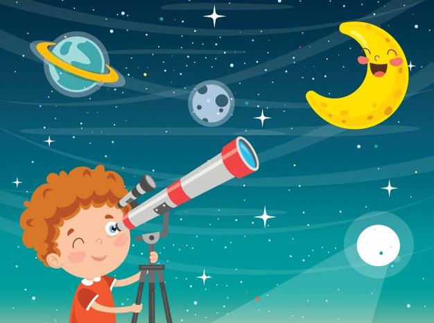 Habrá un taller virtual sobre la Luna para niñas y niños