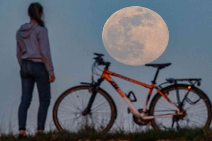 La Luna se está viendo gigante en estos momentos en la cordillera neuquina