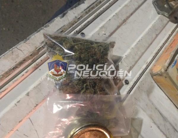Demoran a dos sujetos con Cannabis Sativa en su poder