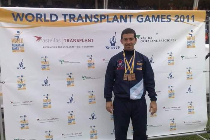 """""""Pipo Lirio"""", el Juninense que logró destacarse en los mundiales de trasplantados. El próximo se realizará en Perth, Australia en el 2023"""