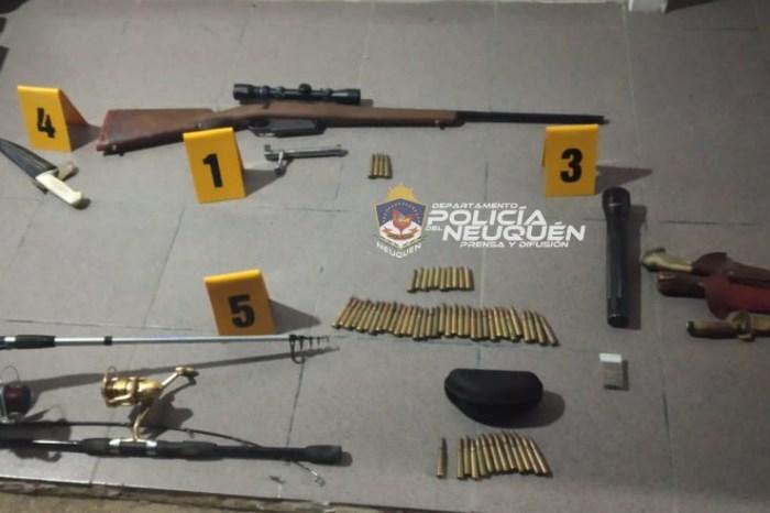 Caza y pesca furtiva: Dos demorados, un arma de fuego y elementos secuestrados en procedimiento