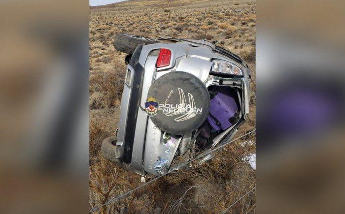Una gemela de 6 años, la víctima fatal del vuelco en la Ruta 237