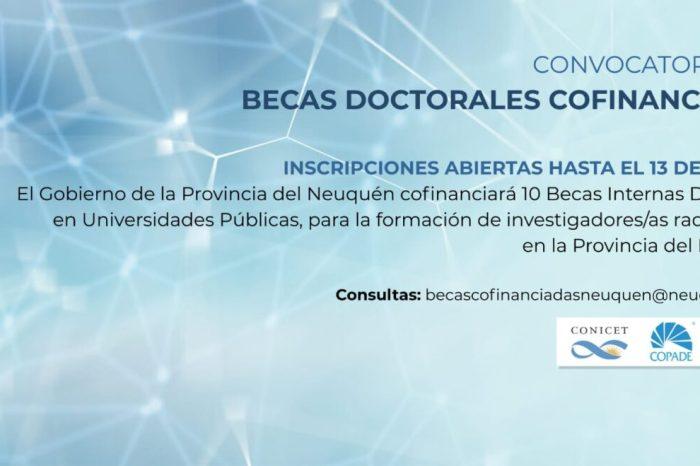 La Provincia del Neuquén cofinanciará becas doctorales junto al CONICET