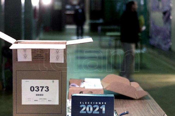 Simulacro electoral de cara a las elecciones primarias de septiembre