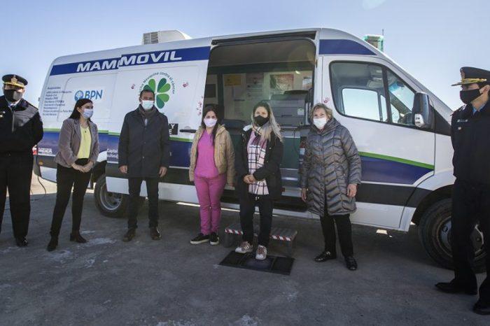 Comenzó la campaña de mamografías gratuitas para mujeres de la Policía de Neuquén
