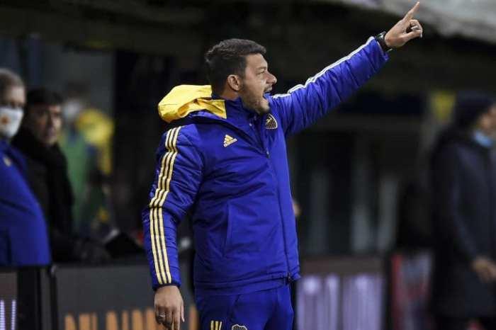 Battaglia, el encargado de comandar a Boca en el futuro inmediato