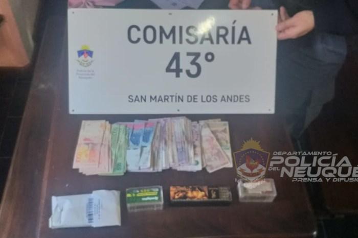 CRÍA 43°: Allanamiento con secuestro de armas de fuego, dinero en efectivo, municiones y un demorado