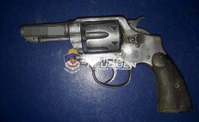 CRÍA 5ta: Demorado con un arma de fuego en su poder