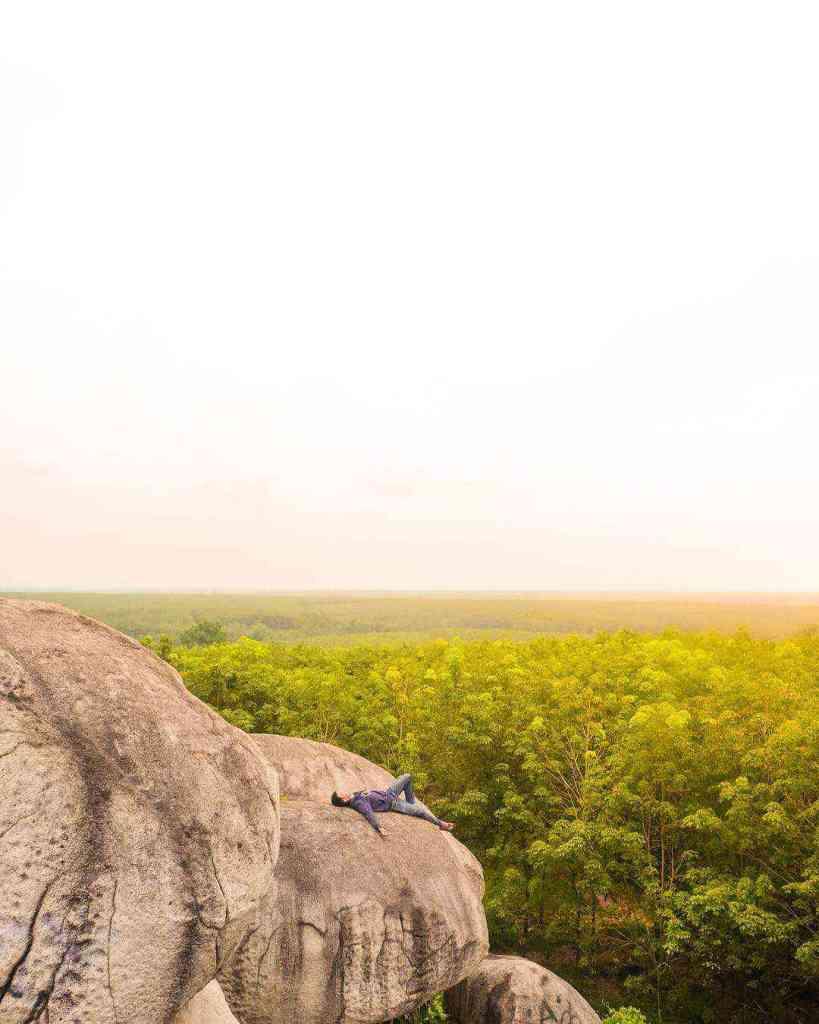 taman batu granit lampung selatan