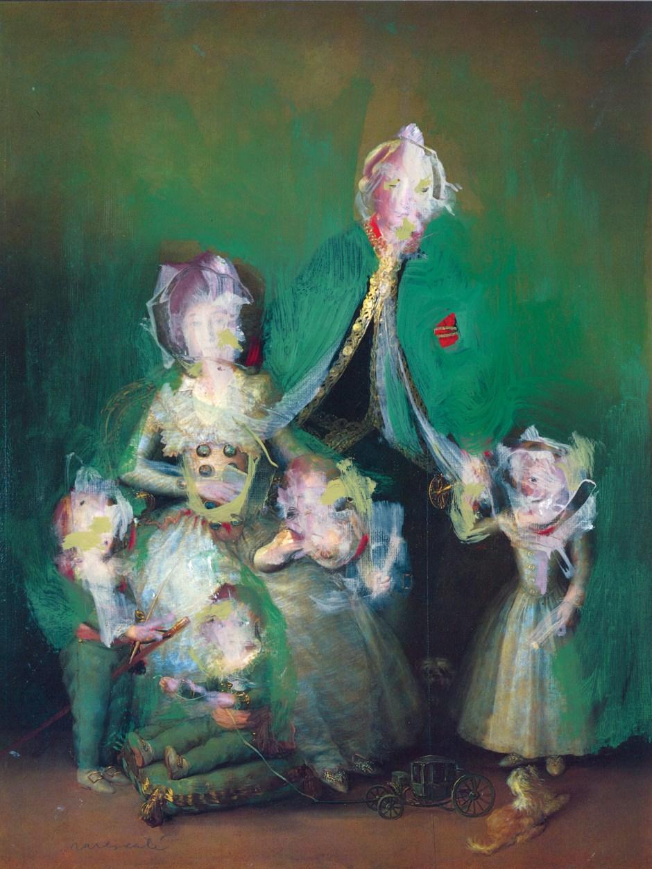 H_'Los guques de Osuna y sus higos' by F. de Goya