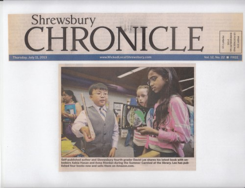 Library carnival kicks off summer reading - Shrewsbury Chronicle (2013)