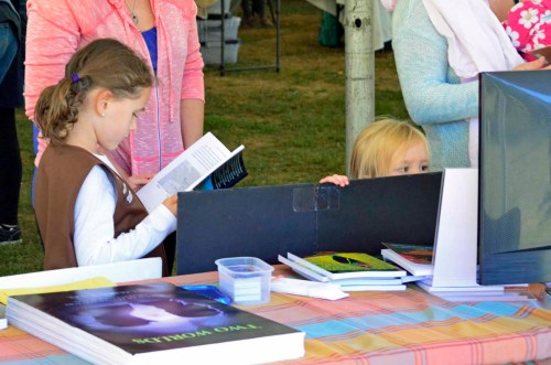 Spirit of Shrewsbury Fall Festival 2016 (David and Laura bookselling event)