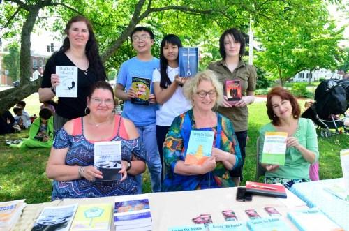 Author Showcase at Shrewsbury Public Library (Jun 2018)