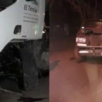Un hombre de Oliveros sufrió fracturas al impactar contra un camión en Ruta 11