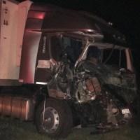 Triple choque de camiones en la Ruta 34: dos choferes heridos