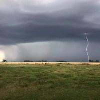 Alerta por tormentas fuertes para este sábado