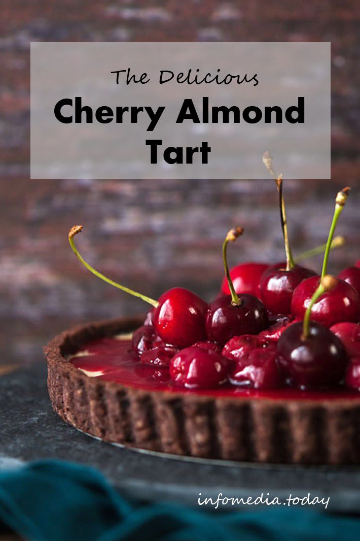 The Delicious Cherry Almond Tart