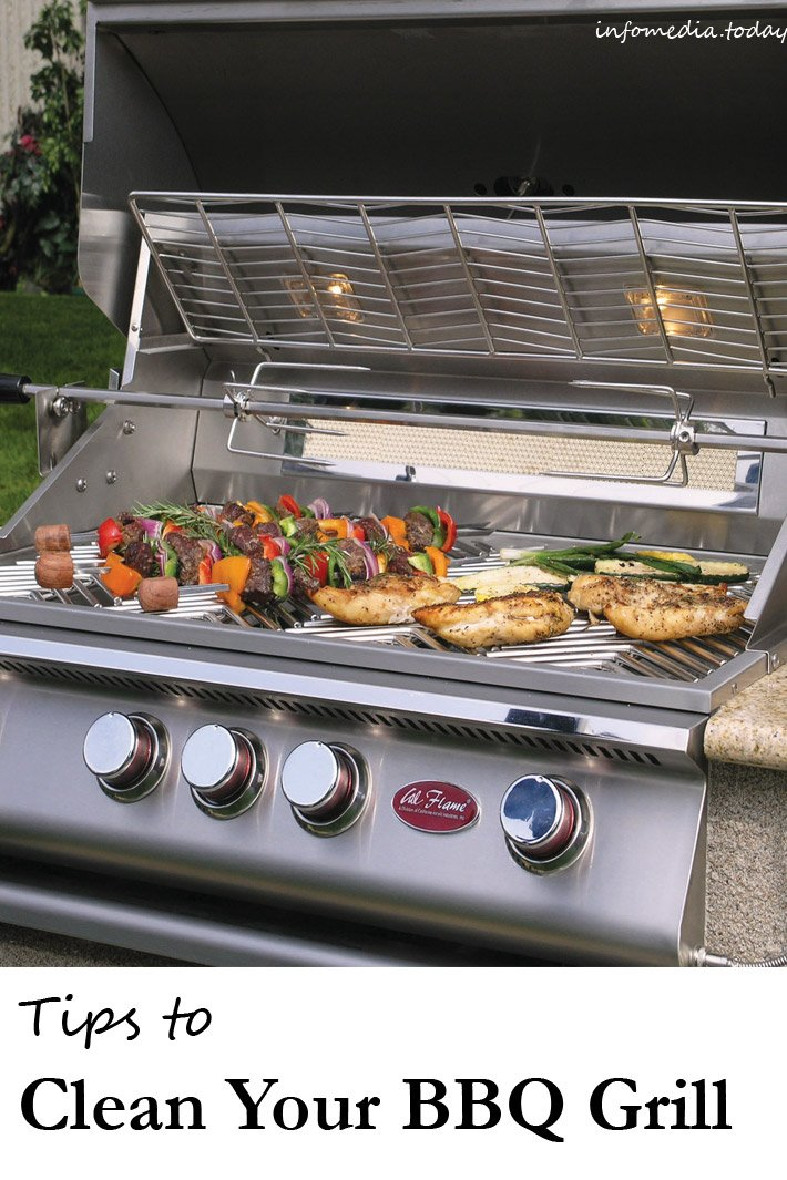 Tips to Clean Your BBQ Grill