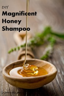 DIY Magnificent Honey Shampoo
