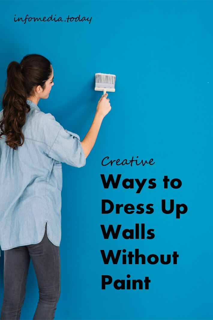 Creative Ways to Dress Up Walls Without Paint