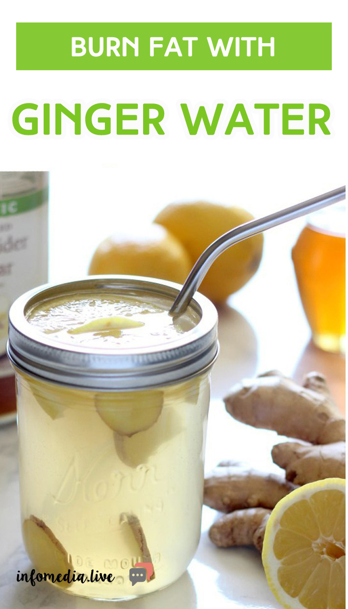 Burn Fat With Ginger Water