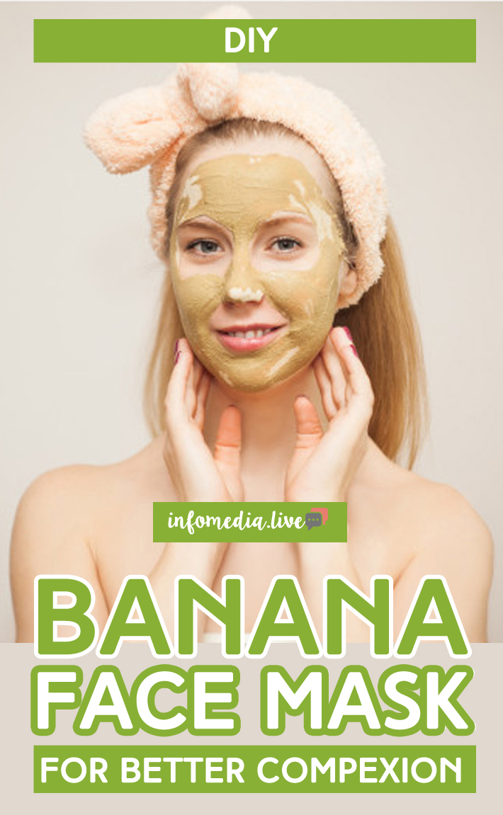 Banana Face Mask For Better Complexion
