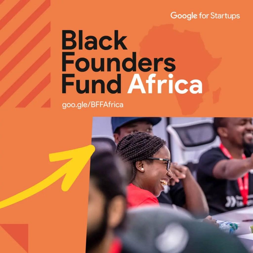 Google Startups Black Founders Fund Application form