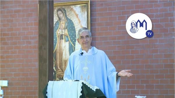 """""""María la toda Santa"""" – Homilia del Padre Francisco Verar en ocasión de la Fiesta del Santísimo Nombre de María"""