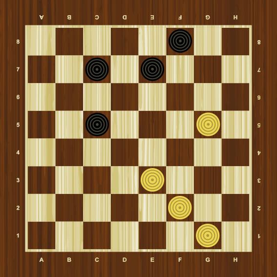 стратегия игры в шашки колонна