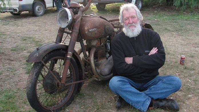 Spannerman used bike