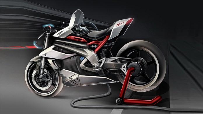 Triumph electric Speed Triple