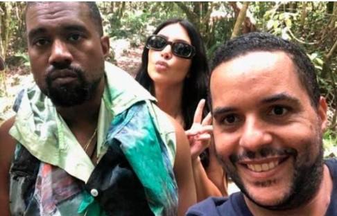 Kim Kardashian y Kanye West están en Punta Cana RD