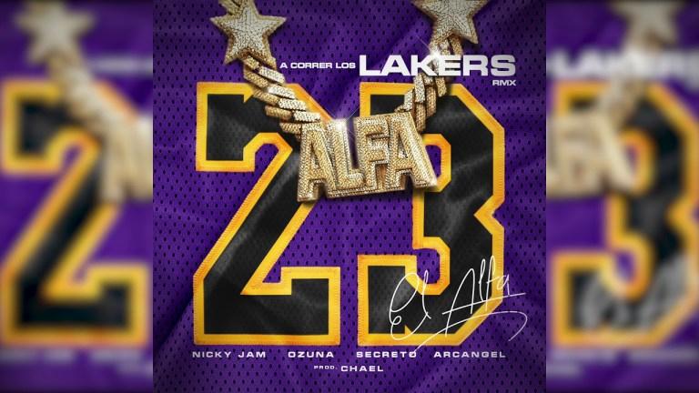 """A Correr Los Lakers ( El Alfa """"El Jefe"""" x Nicky Jam x Ozuna x Arcangel x Secreto """"El Famoso Biberon"""")"""