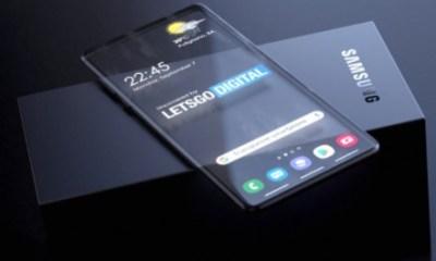 Samsung patenta tecnología y desarrolla un 'Telefono' con una pantalla transparente