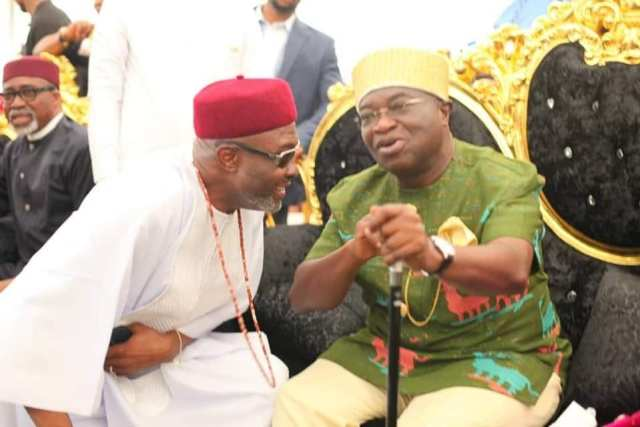 Umuikaa in Isiala Ngwa South Local Government Area of Abia State was on Sunday, August 29th sut down as the son of the governor
