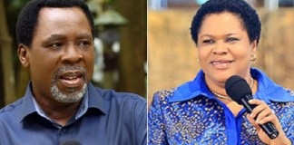 """""""My Husband Remains Founder/General Overseer of SCOAN-T.B Joshua's Wife"""