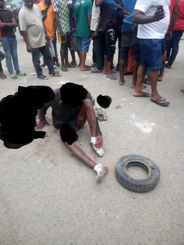 Police Sergeant's Son Escaped Death By The Whiskers In A Failed Armed Robbery Attack In Aba