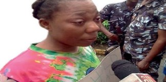 Woman Arrested For Selling Mistress's Child for N150, 000 After Selling her Biological Child