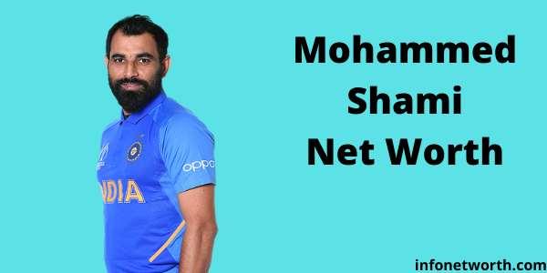 Mohammed Shami Net Worth- IPL Salary, Career & ICC Rankings