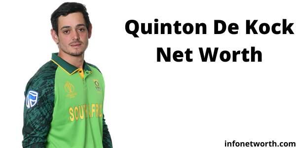 Quinton de Kock Net Worth IPL Salary ICC Ranking Lifestyle