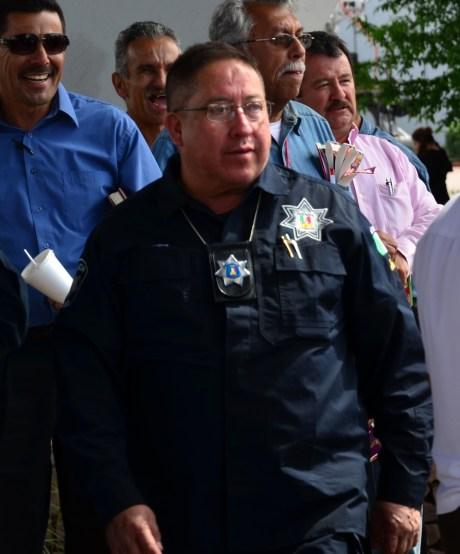 El jefe de la corporación, Miguel Ángel Portillo Lugo.