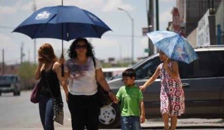 Pese a las lluvias y con la humedad generada, continúan las altas temperaturas en la región.