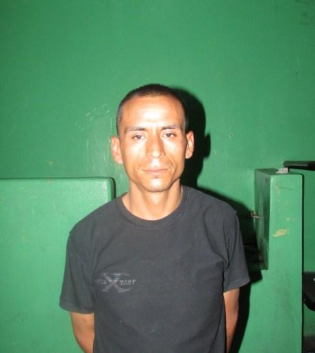 Gerardo Rodríguez, detenido por privación de la libertad, extorsión y robo en perjuicio de cinco migrantes.