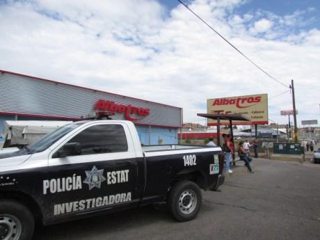 Esta fue la central camionera donde se presentó el robo.
