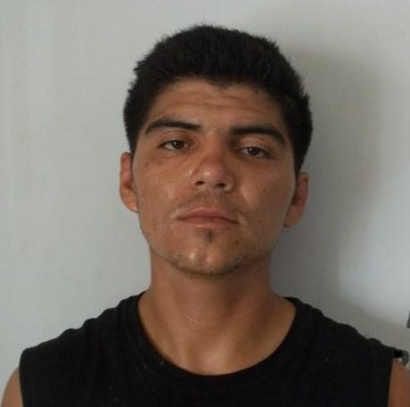 JAIME ISAAC BARRETO QUINTERO, PRESUNTO RESPONSABLE DEL ROBO CON VIOLENCIA A UNA GASOLINERA.