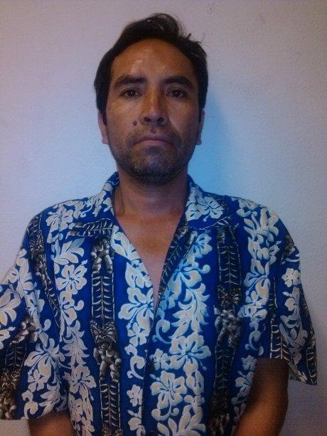 Juan de Jesús Leyva López, detenido por homicidio.